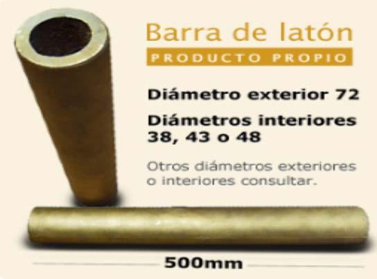 Fundiciones Río Ebro- Barra de latón